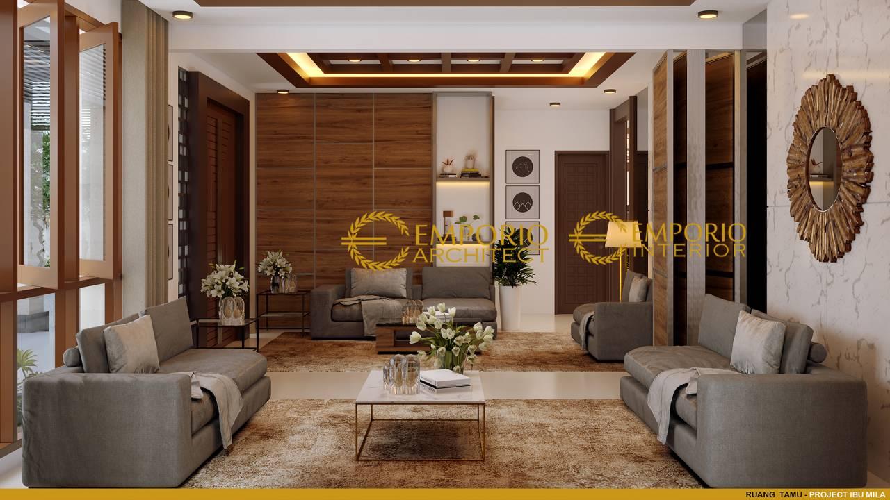 10 Ide Desain Interior Ruang Tamu Mewah Bernuansa Villa Part 2 Interior ruang tamu mewah