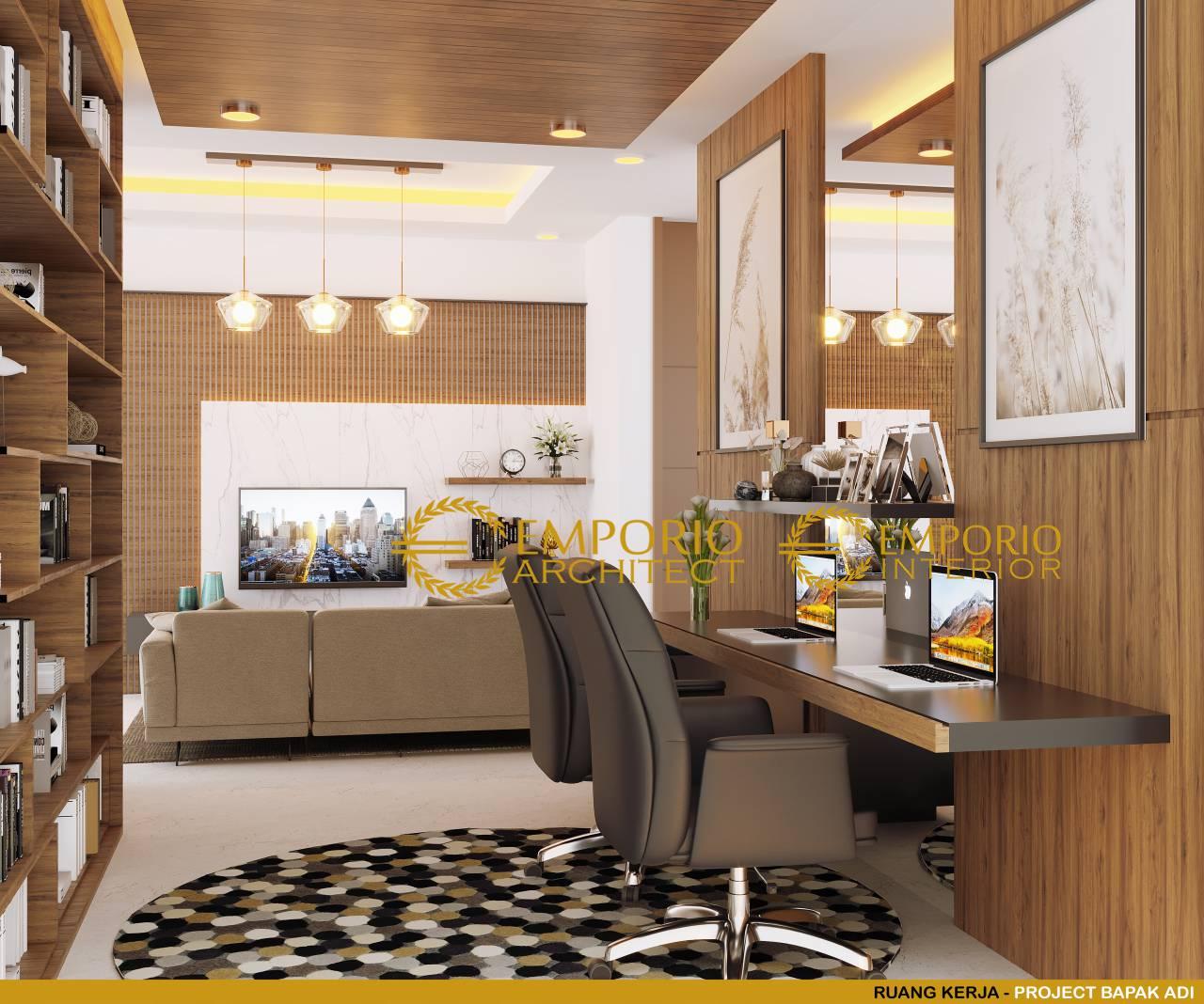 5 Inspirasi Desain Interior Ruang Kerja Pribadi Untuk 2 Orang Di Rumah