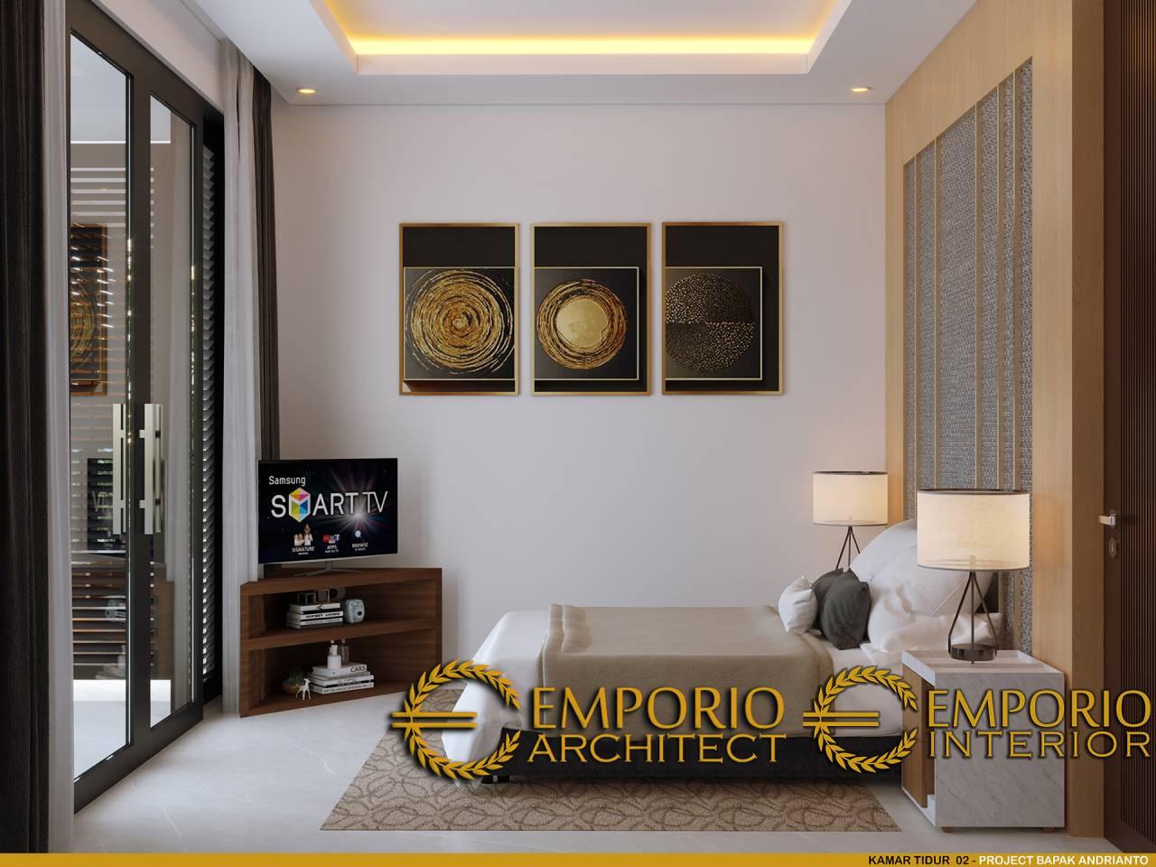 15 Ide Desain Interior Kamar Tidur Rasa Villa Dengan Pintu ...