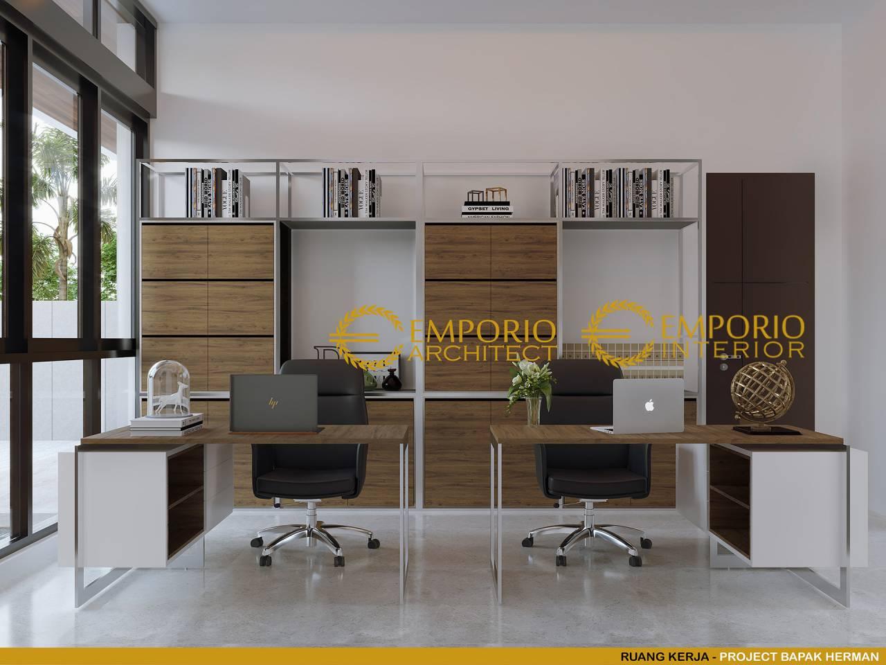 desain interior rumah modern 2 lantai bapak herman di tanjung pinang kepulauan riau 627532364030920095234 0