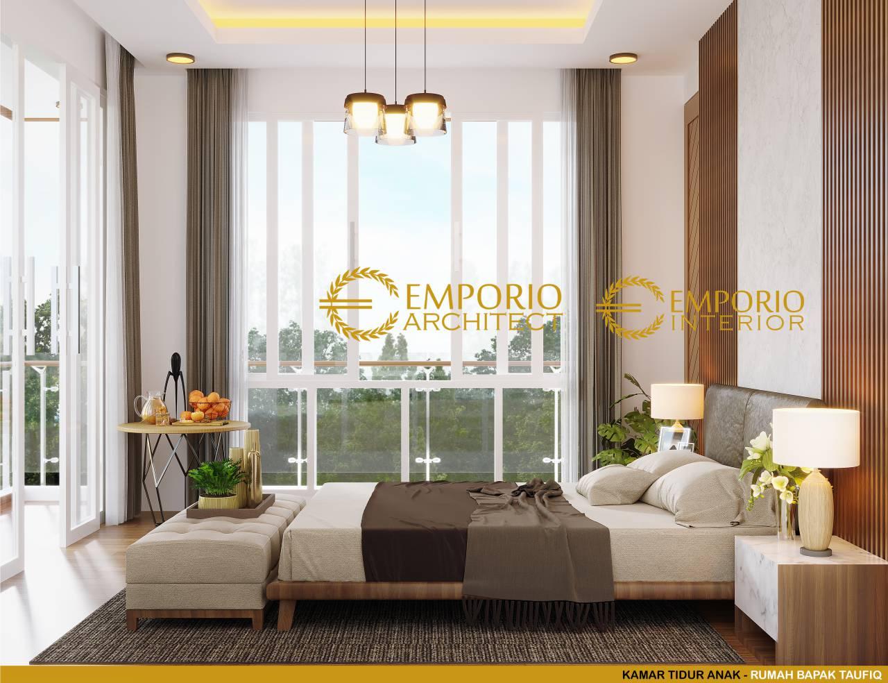 desain interior rumah modern 2 lantai bapak taufiq di bukittinggi sumatera barat 94377133080520042835 5