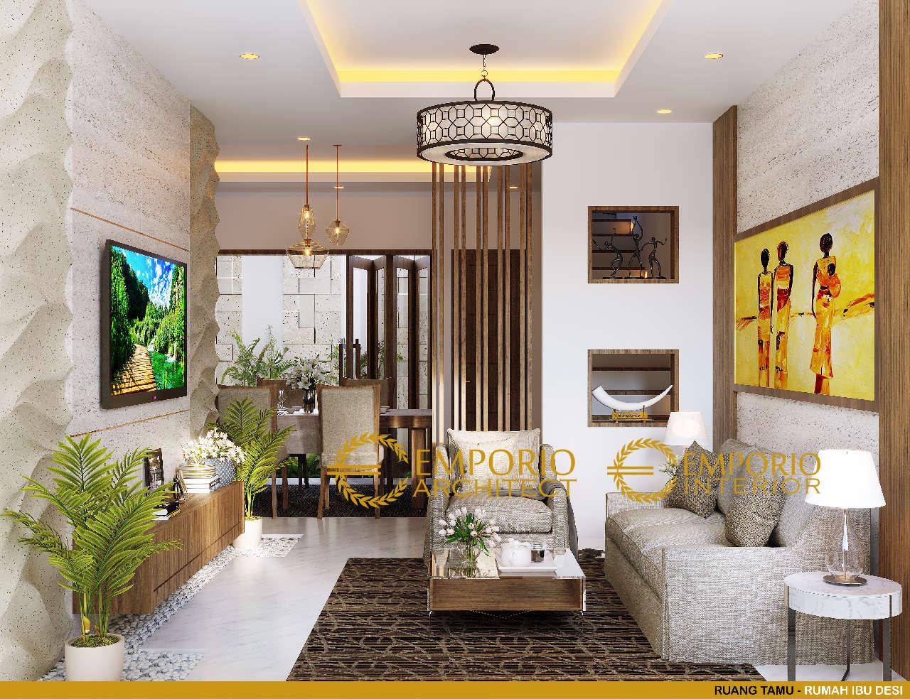 Desain Interior Rumah Modern 2 Lantai Ibu Desi Di Badung Bali