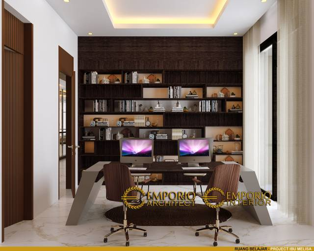 Emporio Interior Ruang Baca (Perpustakaan)